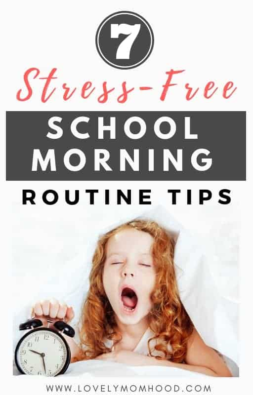 School morning routines can be chaos! Learn the importance of having a structured school morning routine for kids (and parents) and 7 great ways to achieve it.
