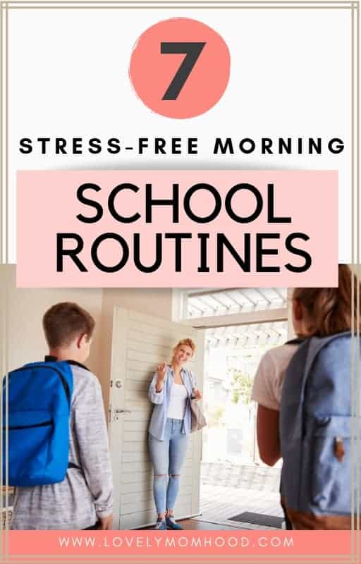 Here are 7 easy school morning routine hacks