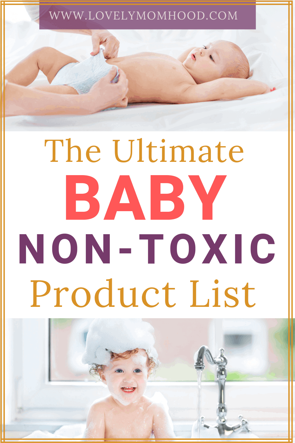 non-toxic and all natural baby products