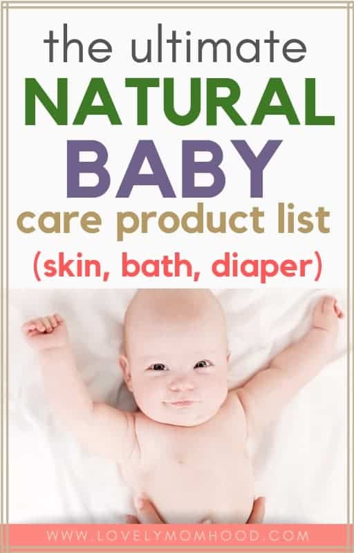 natural and non-toxic baby products list