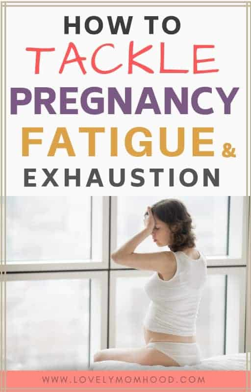 pregnancy exhaustion and fatigue