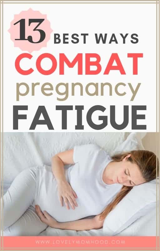 pregnancy fatigue and exhaustion