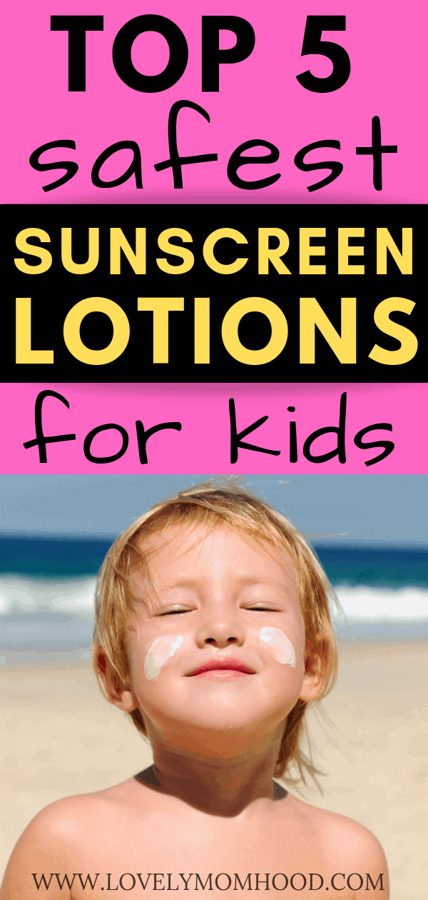 nontoxic sunscreen for kids