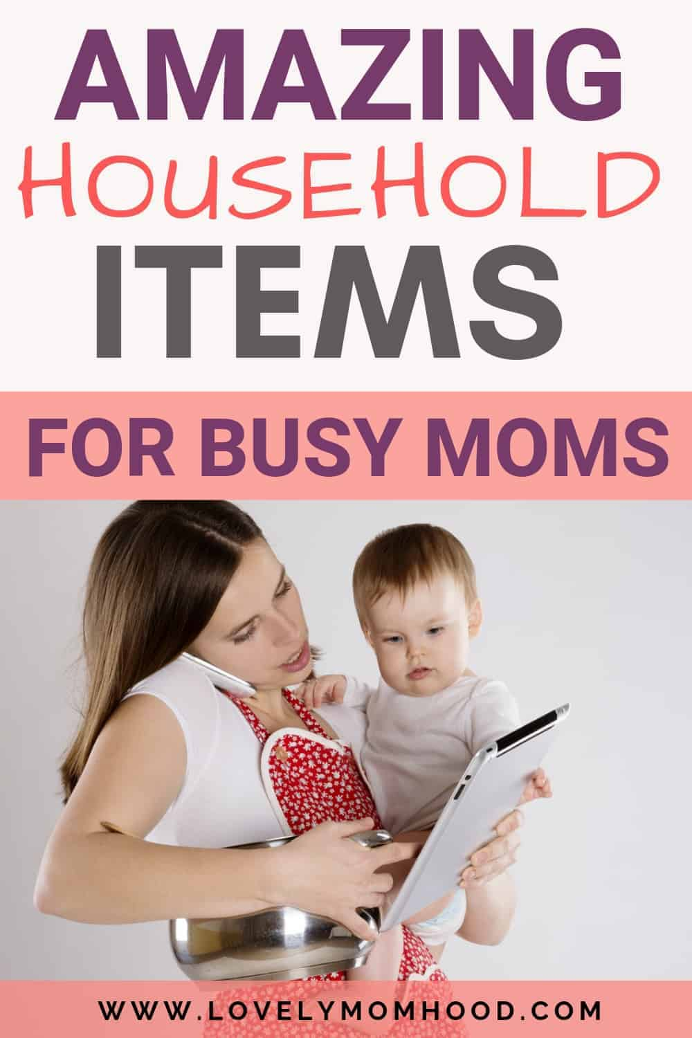 Household products for busy Moms