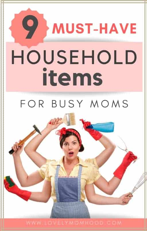 Must-have household items for moms