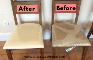 how to reupholster chairs tutorial