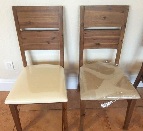 How To Reupholster Dining Room Chairs With Fabric And