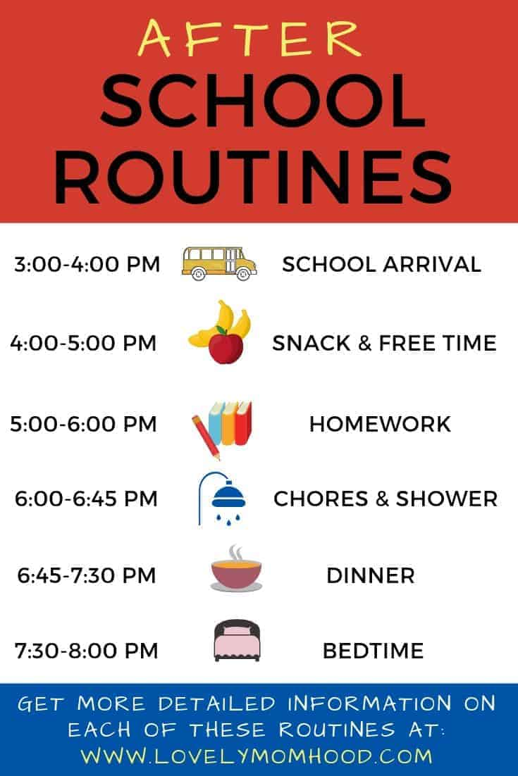 7 Important Before Amp After School Routines For Kids Of All