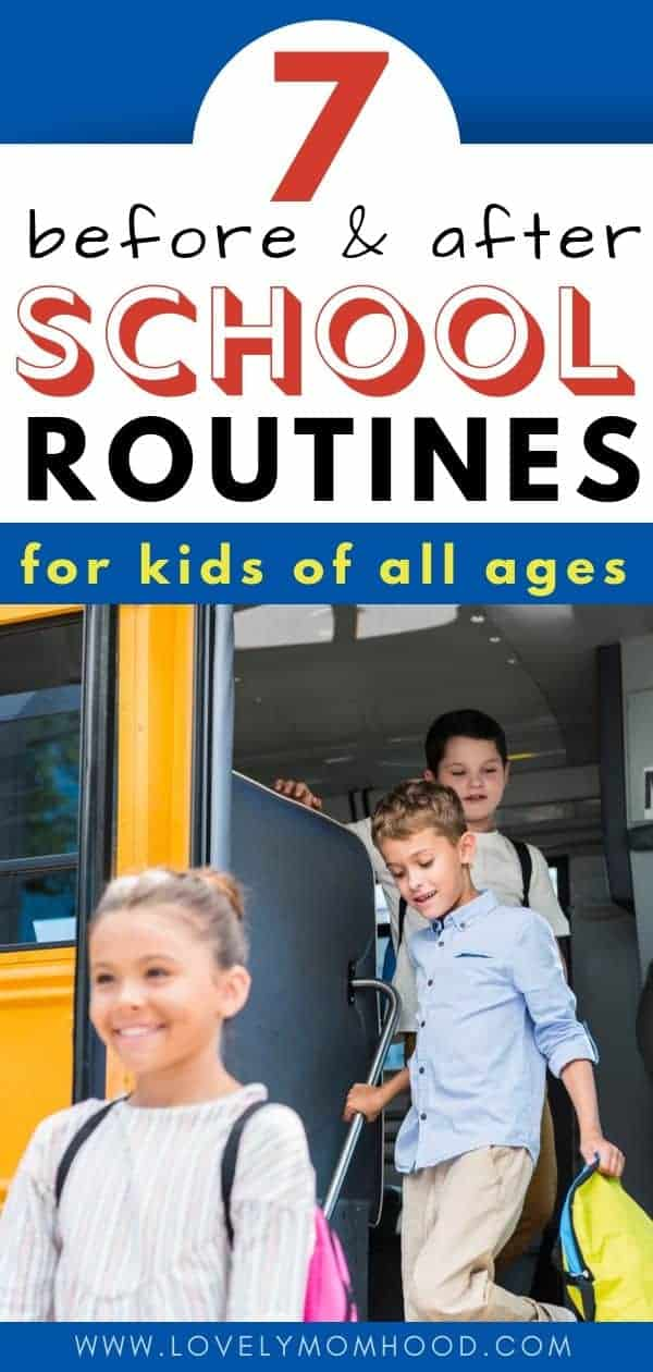 Before and After School Routines for Kids