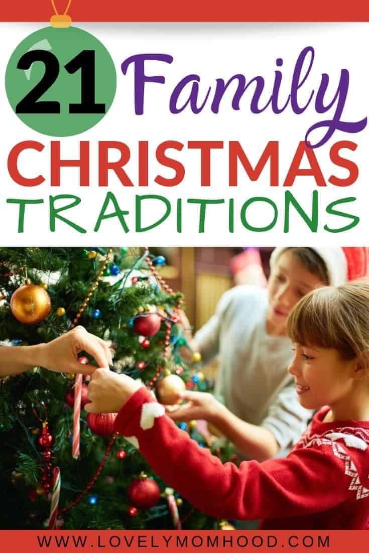 Memorable and Fun Christmas Traditions for the entire family