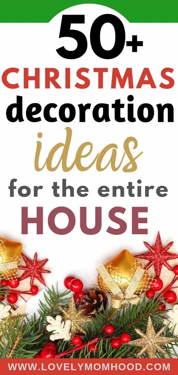 Christmas decorations ideas for the entire home, Christmas home decor