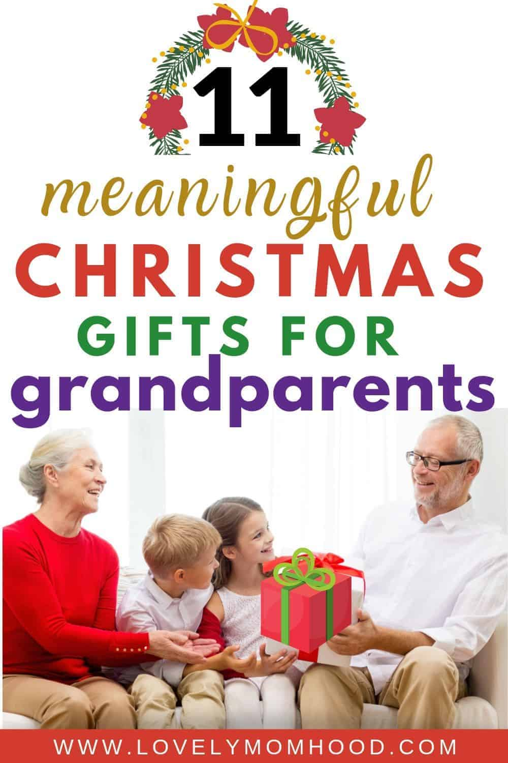 Best Christmas Gift for grandparents, Birthday gifts for grandparents