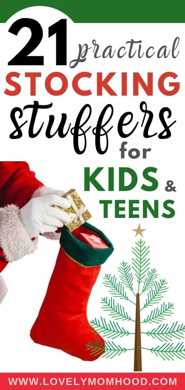 Practical stocking stuffers for kids and teenagers, stocking stuffer ideas for kids