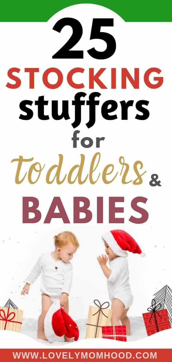 Best Stocking Stuffers for Toddlers and Babies