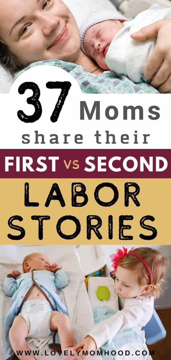 second labor vs first labor differences