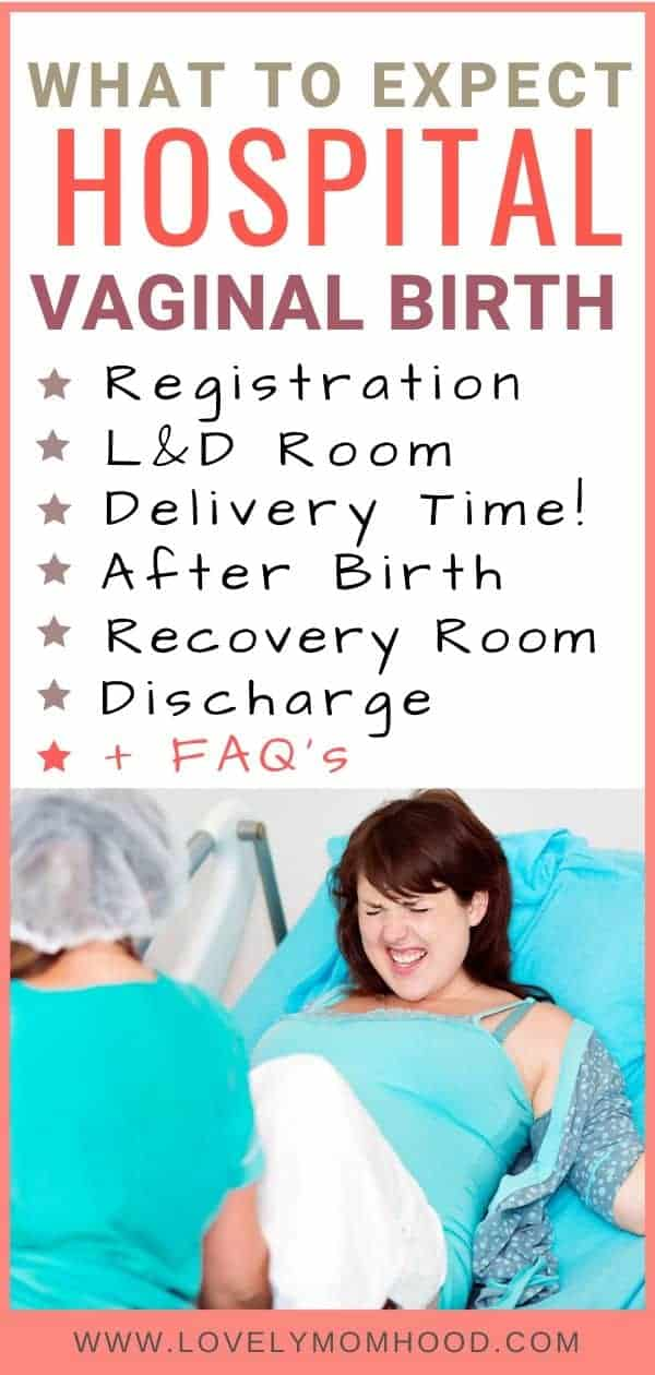 What to expect during a vaginal delivery, hospital birth