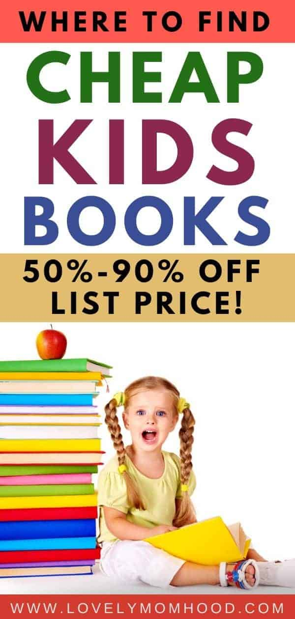 Where to find cheap books for kids