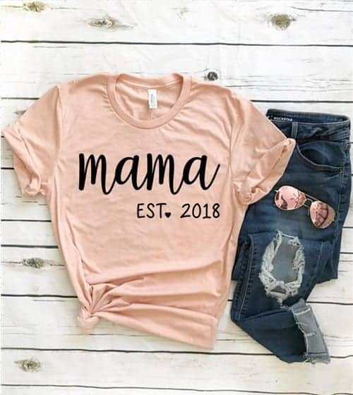 motherhood shorts, mama est year