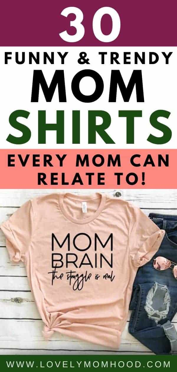 trendy motherhood shirts, funny shirts for moms