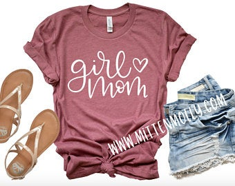 girl mom shirt