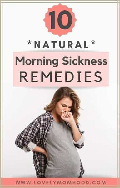 Natural Morning Sickness Remedies that Work
