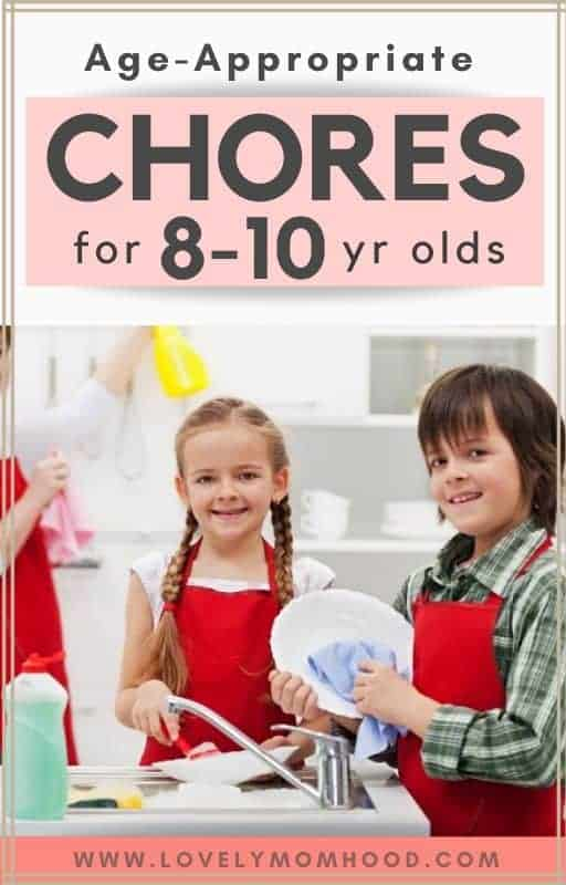 chores for 8 year olds and allowances