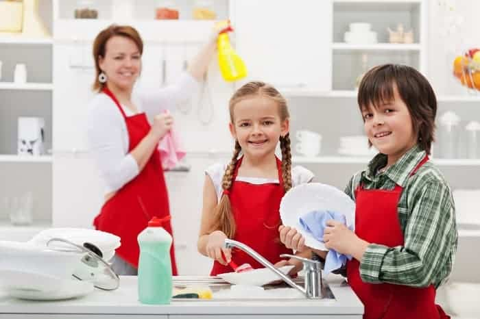 chores for 8-10 year olds