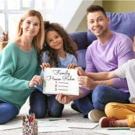 how to create you own family house rules for kids and teens
