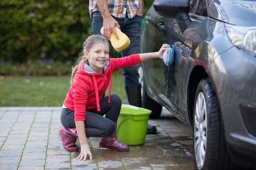 chores with allowances for 8-10 year olds