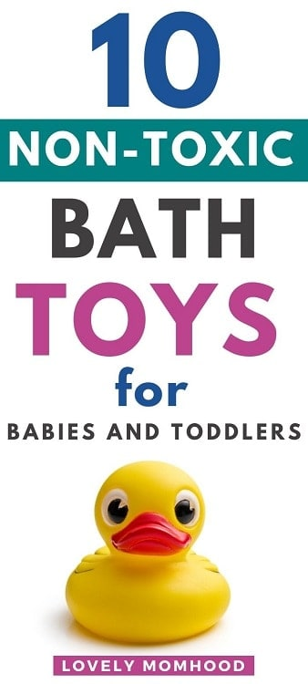 eco-friendly and non toxic bath toys for babies and toddlers