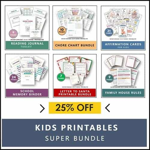 Kids Printables Super Bundle