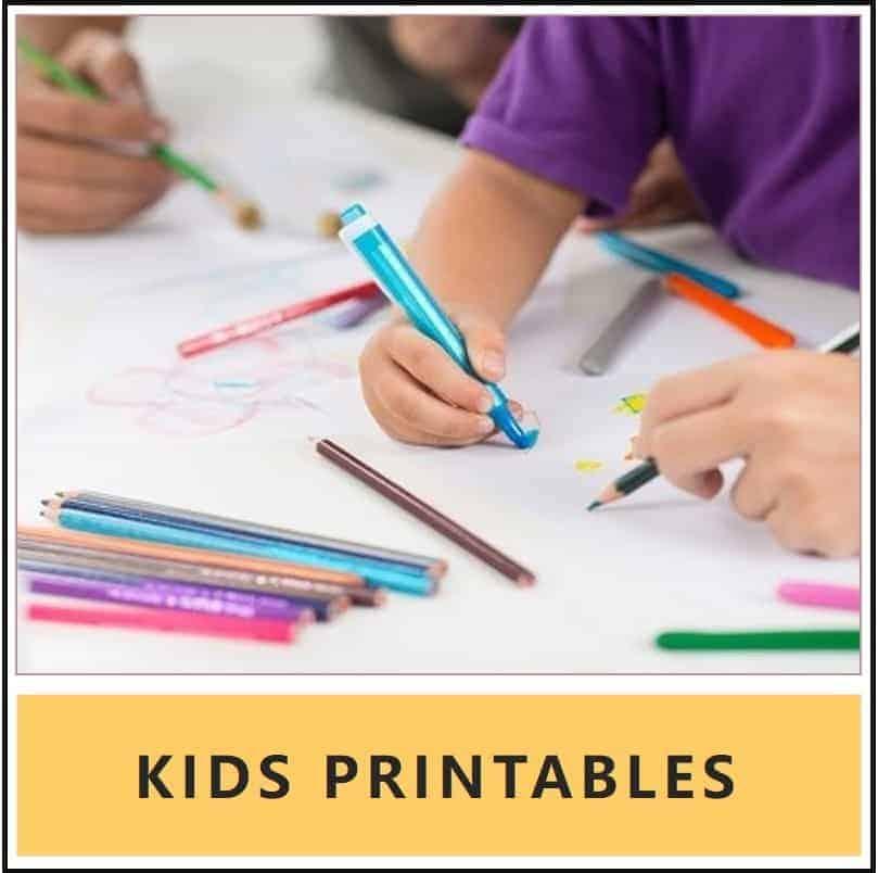 kids printables