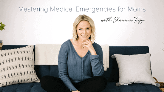 mastering medical emargencies for moms, online newborn care class