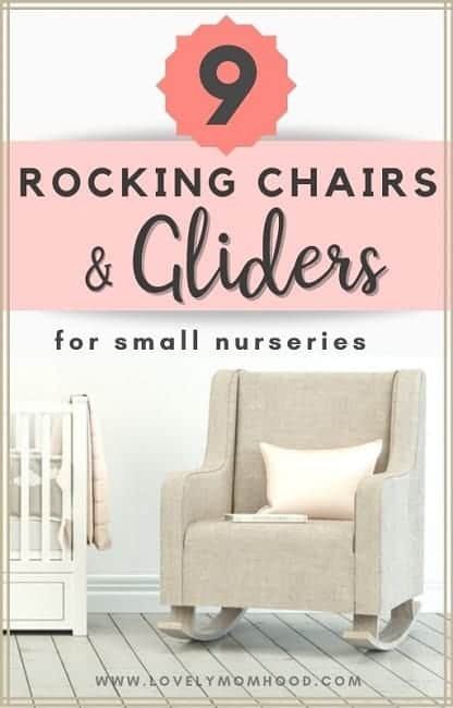 Best Rocking Chair and Gliders for a Small Nursery