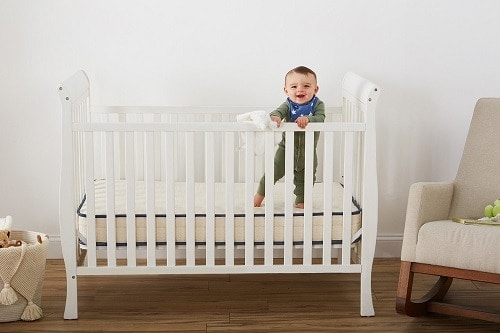 Emily Crib Mattress (non-toxic and organic baby mattress)