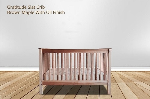 Green Cradle Gratitude Slat non-toxic crib