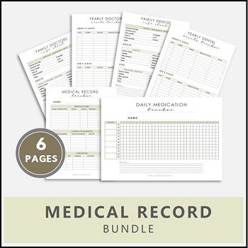 medical record printable