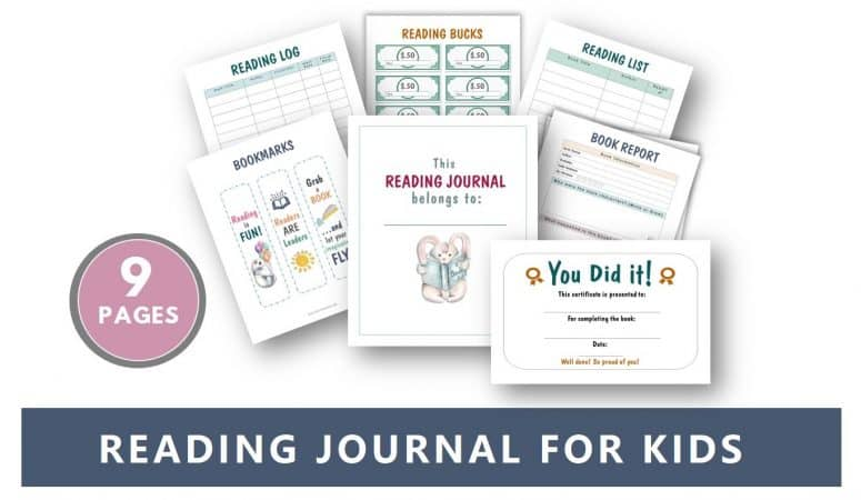 The Best Reading Journal for Kids (Printable Download)