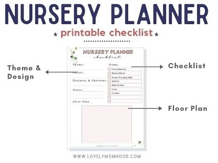 Nursery Planner Checklist