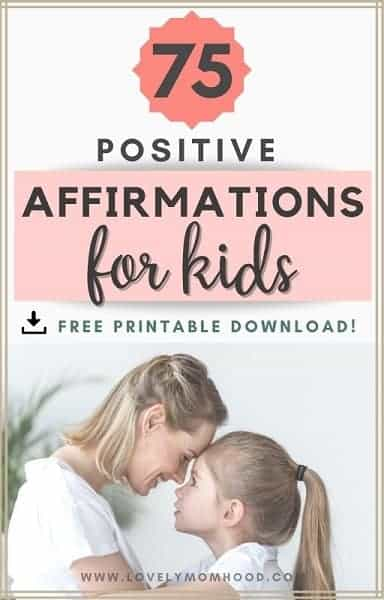 75 positive affirmations for kids