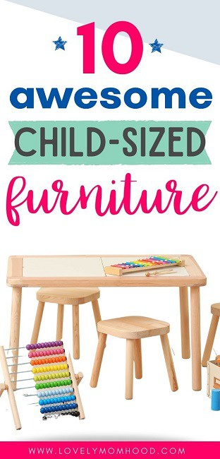 furniture for kids, child-sized furniture