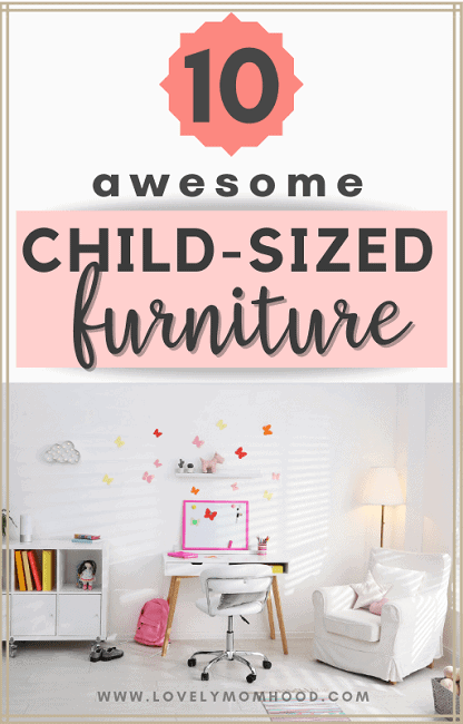 child-sized furniture