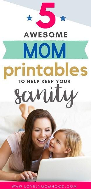printables for moms