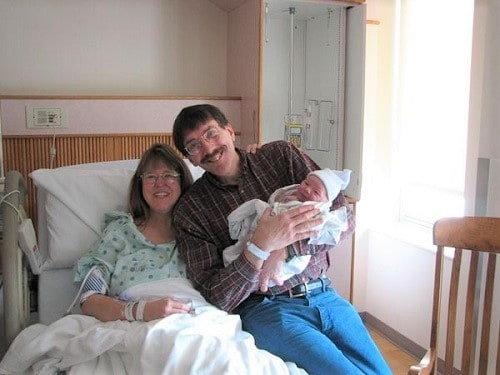Hope's positive birth story
