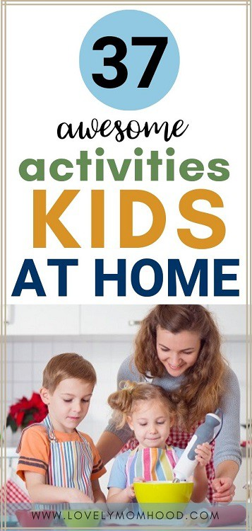 activities for kids at home