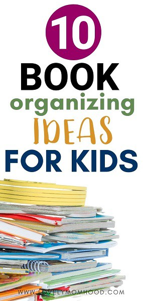 kids books organizing ideas