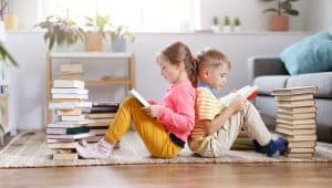 storing kids books